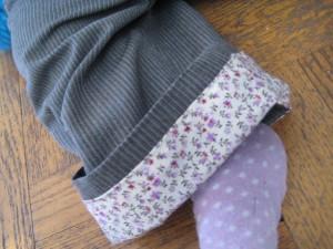 Trouser cuff detail