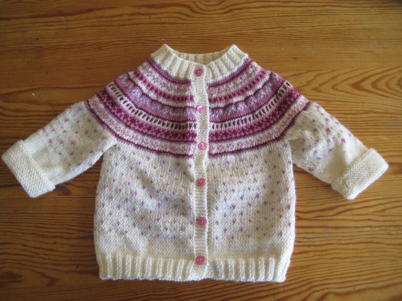 Fair Isle Baby Sweater Pattern Baggage Clothing